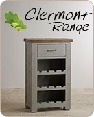 The Clermont Painted Rough Sawn Solid Oak Range