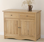 Cairo Solid Oak Small Sideboard