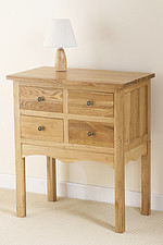 Cairo Solid Oak 4 Drawer Chest
