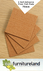 4 Protective Felt Floor Pads