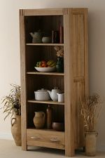 Alto Solid Oak Bookcase