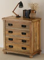 Baku Light Mango 4 Drawer Chest