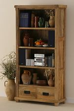 Baku Light Mango 2 Drawer Bookcase