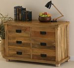 Baku Light Mango 6 Drawer Chest