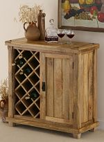 Baku Light Mango Wine Cabinet