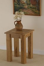 Newark Solid Oak Lamp Table