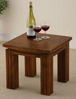 Tokyo Brown Teak Mango Side Table