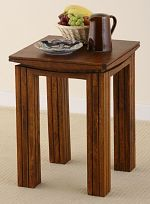 Tokyo Brown Teak Mango Lamp Table