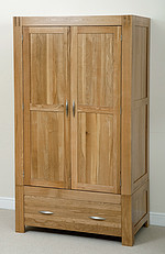 Alto Solid Oak Wardrobe