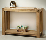 Alto Solid Oak Console / Hallway Table