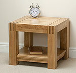 Alto Solid Oak Side Table