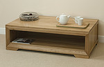 Bevel Solid Oak Coffee Table