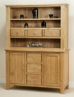 Dovedale Solid Oak Welsh Dresser