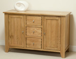 Dovedale Solid Oak Large Sideboard