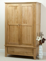 Dovedale Solid Oak Wardrobe