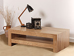 Nero Solid Oak Coffee Table