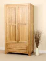 Fresco Solid Oak Wardrobe