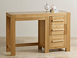 Fresco Natural Solid Oak Dressing Table