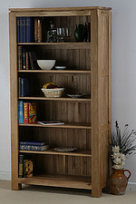 Galway Solid Oak Tall Bookcase