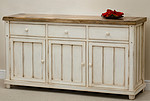 Shabby Chic Solid Mango Large Sideboard