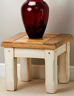 Shabby Chic Solid Mango Side Table