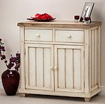 Shabby Chic Solid Mango Small Sideboard