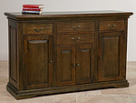 Louis Philippe Solid Mango Large Sideboard