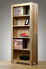 Mantis Light Solid Mango Tall Bookcase