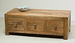 Mantis Light Solid Mango 6 Drawer Coffee Table
