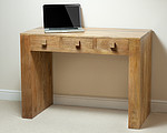 Mantis Light Natural Solid Mango Computer Desk