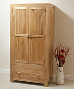 Oakdale Solid Oak Wardrobe