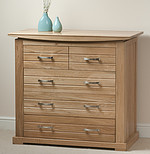 Tokyo Solid Oak Chest of Drawers