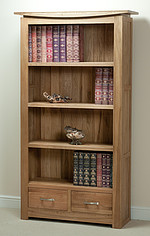 Tokyo Solid Oak Tall Bookcase
