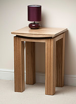 Tokyo Solid Oak Lamp Table