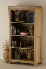 Andorra Solid Oak Tall Bookcase
