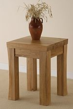 Andorra Solid Oak Lamp Table