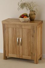 Andorra Solid Oak Large CD Storage