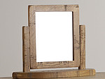 Ripley Rough Sawn Solid Oak Dressing Mirror