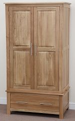 Rivermead Solid Oak Wardrobe
