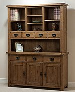 Rustic Solid Oak Large Dresser