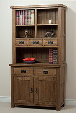 Rustic Solid Oak Dresser