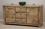 Saigon Solid Acacia Large Sideboard