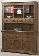 French Farmhouse Solid Oak Large Dresser