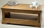 French Farmhouse Solid Oak Coffee Table