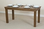 French Farmhouse Solid Oak 5ft Dining Table