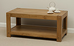 Quercus Solid Oak Coffee Table