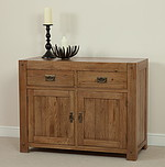 Quercus Solid Oak Small Sideboard