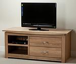 Tokyo Natural Solid Oak Widescreen TV Cabinet