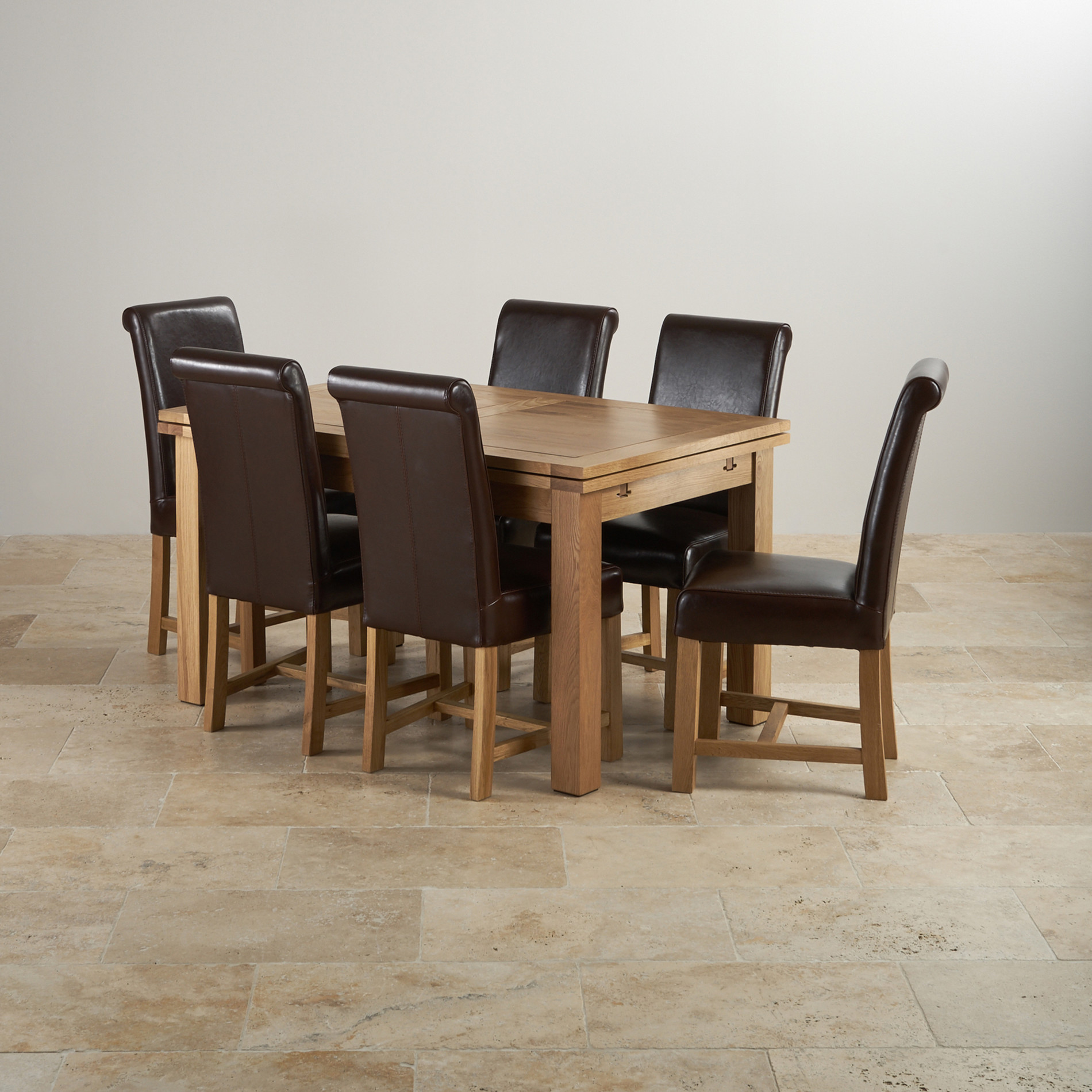 Dorset Natural Oak Dining Set