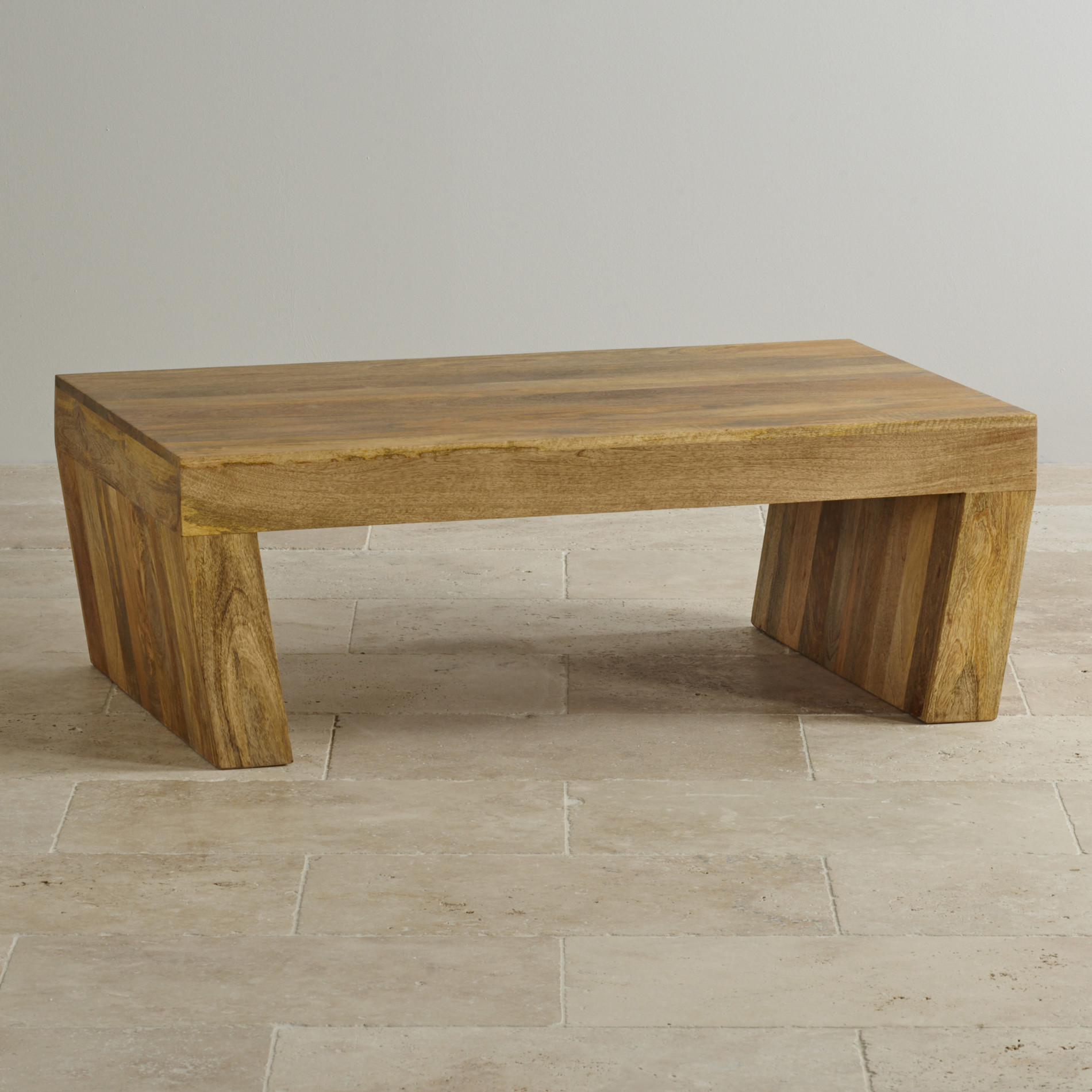 custom delivery mantis light natural solid mango angled coffee table bargu mango wood side table